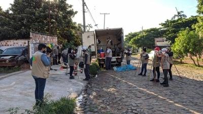HOY / Municipalidad de Asunción intervino patío baldío abandonado