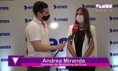 Inauguración oficial de ENEX en Asunción
