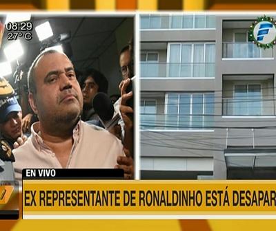Exrepresentante de Ronaldinho se habría fugado