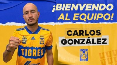 Tigres presentó al paraguayo Carlos González