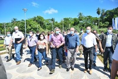 Anuncian construcción de nuevo IPS en Salto del Guairá y el Hospital Regional de Curuguaty