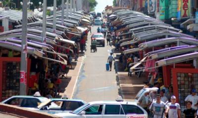 HOY / Hay un 60% de comercios en Ciudad del Este que aún siguen cerrados