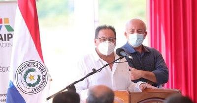 La Nación / Alderete destaca política de Estado en inauguración de obras