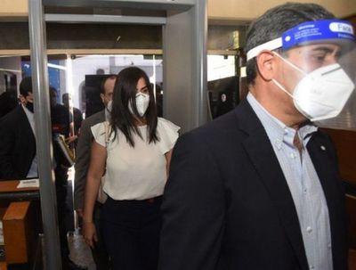 Jueza fija audiencia de imposición de medidas para Patricia Ferreira