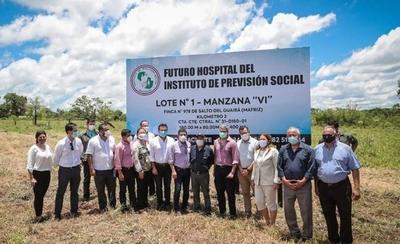 HOY / Abdo anuncia construcción de IPS en Salto del Guairá