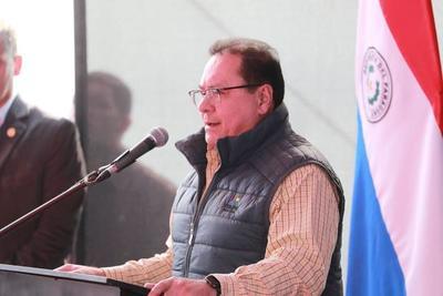 José Alberto Alderete enfatiza aplicación de política de Estado durante inauguración de obras