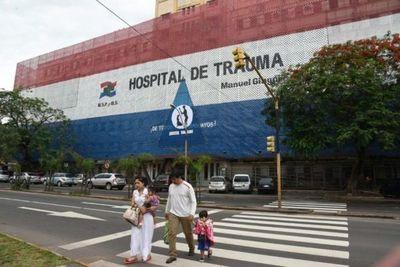 Hospital de Trauma al límite por accidentados y víctimas de violencia