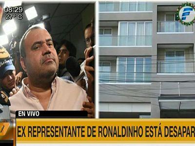 Exrepresentante de Ronaldinho desapareció