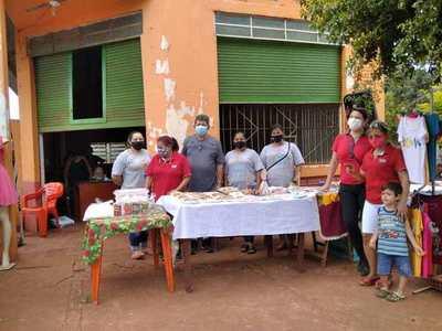 Vecinos realizaron una feria de navidad en el barrio Chaipé