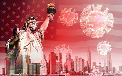 Crisis sanitaria, tensiones internacionales y división interna marcaron el difícil 2020 para EEUU