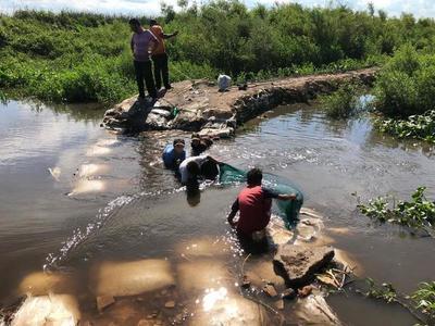 Detienen a un hombre que realizaba pesca ilegal en área protegida