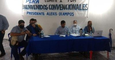 """La Nación / Convención: """"Es una fiesta cívica de todos los afiliados del Partido Liberal"""""""