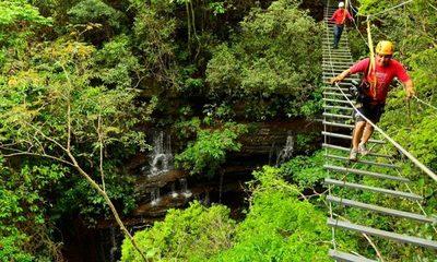 Chacurru y sus puentes colgantes, un mundo por descubrir en Amambay