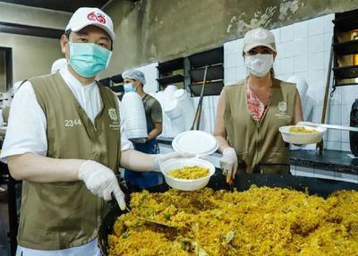 Oficina de la Primera Dama repartió más de 376.000 platos de comida durante la pandemia