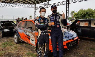 Diego Domínguez Bejarano gana el rally de Carmen del Paraná