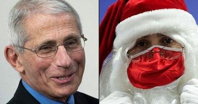 La Nación / Papá Noel está vacunado y listo para repartir regalos, dice Anthony Fauci