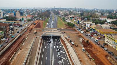 Liberan tránsito en tramo de la Avda. San Blás dentro del proyecto del Multiviaducto