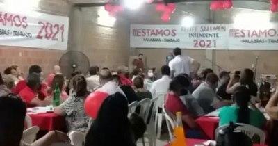 La Nación / Denuncian a ministro de la Juventud por acto partidario sin protocolo sanitario