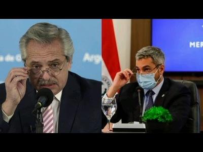 Mario Abdo y Alberto Fernández se reunirían en enero en Paraguay