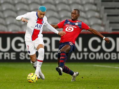 El PSG se atasca ante el Lille, que recupera el liderato