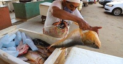 La Nación / Rehabilitan venta de pescados y comedores