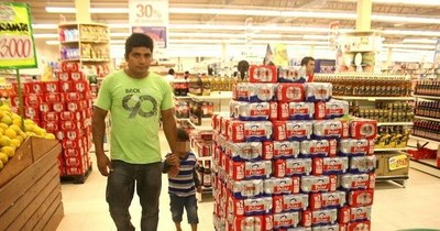 La Nación / No se recuperan importaciones de tabaco y bebidas alcohólicas