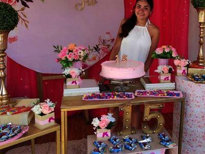 El cumpleaños de Fiorella Roa
