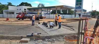 Habilitan colectora San Blas en zona de multiviaducto