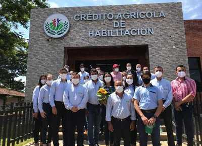 Con 10 metas alcanzadas, el Crédito Agrícola festeja sus 77 años de vida institucional