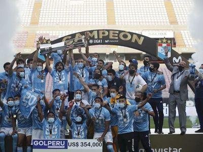 Sporting Cristal conquista su quinto título en una década en Perú