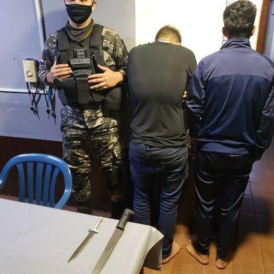 Lince detuvo a dos jóvenes tras persecución