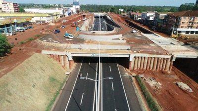 Multiviaducto: liberan tránsito en tramo de la avenida San Blas