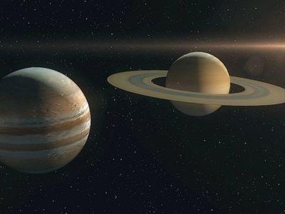 El cruce entre Júpiter y Saturno se podrá ver a partir de las 20.00