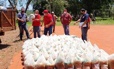 Gobernación ya entregó 105 mil kilos de alimentos en lo que va de diciembre