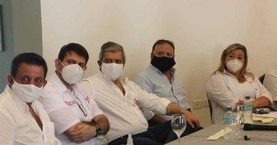 La Nación / Carlos Pallarolas lanzó su candidatura para la intendencia de Ciudad del Este