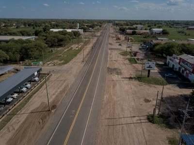 La reconstruida ruta Transchaco dispone de sus primeros 20 kilómetros