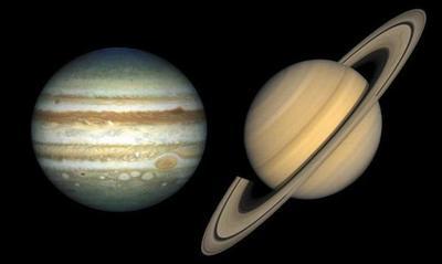 A partir de las 20:00 horas se podrá ver el cruce entre Júpiter y Saturno – Prensa 5