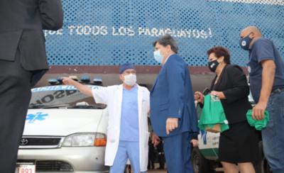 HOY / Ministerio del Interior respalda campaña de prevención de quemaduras por petardo