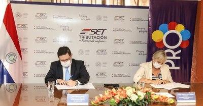 La Nación / Firman convenio para trabajar para la formalización