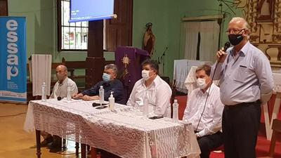 Essap presenta proyecto de planta de tratamiento para la ciudad de Caapucú