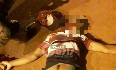 Menor fue asesinado con 10 impactos de bala en Cápitan Bado