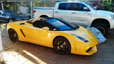 """HOY / Lamborghini de """"Cucho"""" finalmente será puesto a la venta a un precio """"de remate"""""""