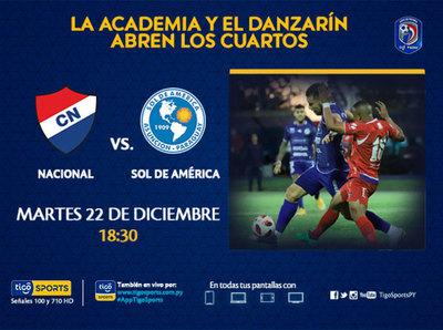 Nacional y Sol de América inician la fase final del torneo