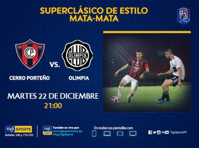 Cerro Porteño y Olimpia, en un clásico definitorio