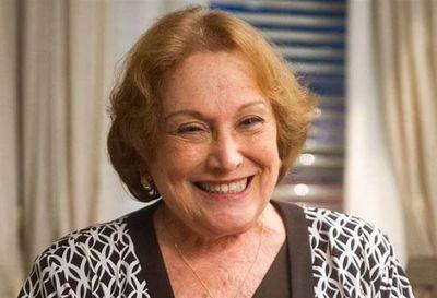 Creman los restos de la actriz brasileña Nicette Bruno, victima de Covid-19