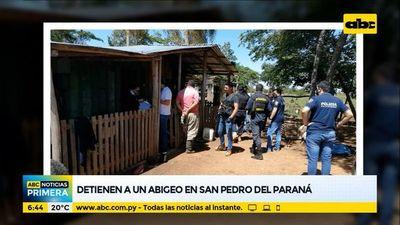 Detienen a un abigeo en San Pedro del Paraná