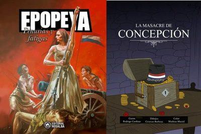 «Epopeya – Penurias y fatigas», historieta con la participación del concepcionero Rodrigo Cardozo como guionista