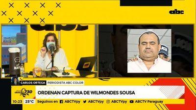 Ordenan captura internacional de Wilmondes Sousa