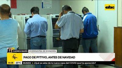 """Pago de Pytyvô será """"antes de Navidad"""", dice Hacienda"""
