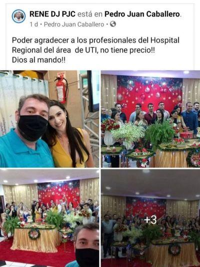 Médicos echan la culpa a DJ René Rodríguez que filtró las fotos en redes sociales